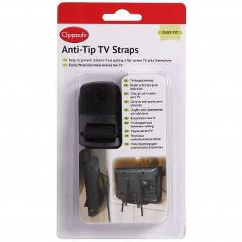 Clippasafe Anti-Tip TV Straps