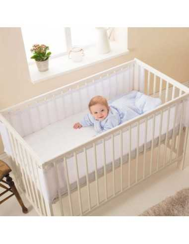 Purflo Breathable Cot Bumper Tear Drop