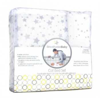 Breathable Baby Cotbed Set...