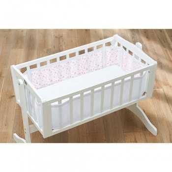 Breathable Baby Mesh Crib...