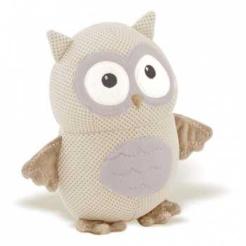 Breathable Baby Toy Owl Grey