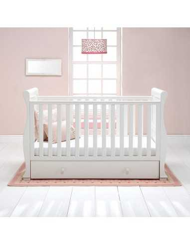 East Coast Alaska Sleigh Cot Bed With...