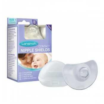 Lansinoh Nipple Shields 20mm