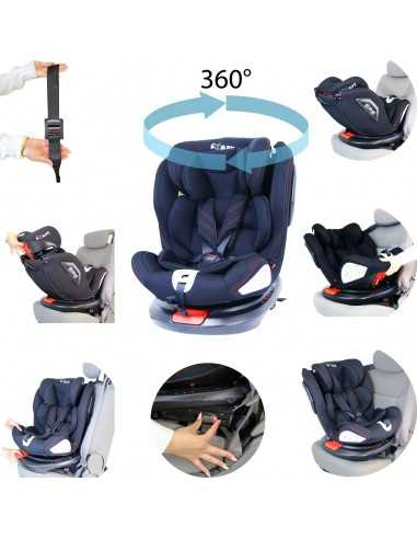 Isafe All Stages 360° Rotating Baby...