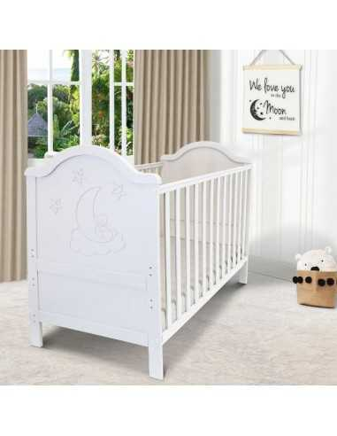 iSafe Baby Cot Bed Toddler Bed-Wendy...
