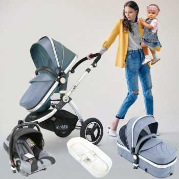 Isafe 3in1 Pram Travel...