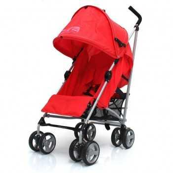 Zeta Vooom Stroller-Warm Red