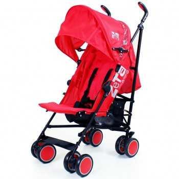 Zeta City Stroller-Red