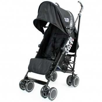 Zeta City Stroller-Black