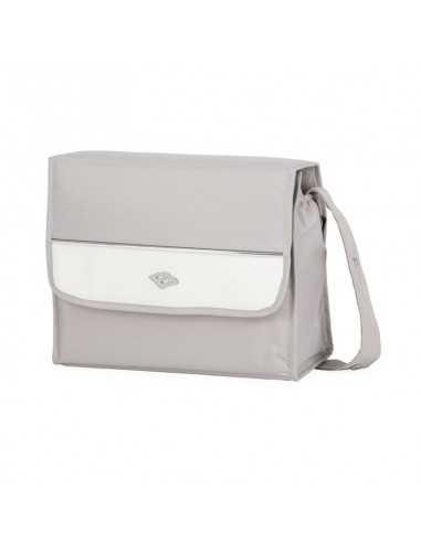 Bebecar Changing Bag Carre-Pearl Grey...