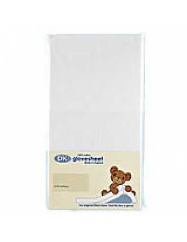 Dk Travel Cot Fitted Sheet White