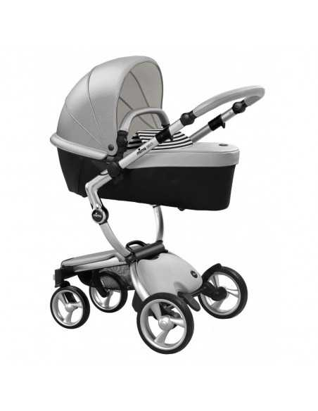 Mima Xari 3in1 Aluminium Chassis Pushchair-Argento Mima