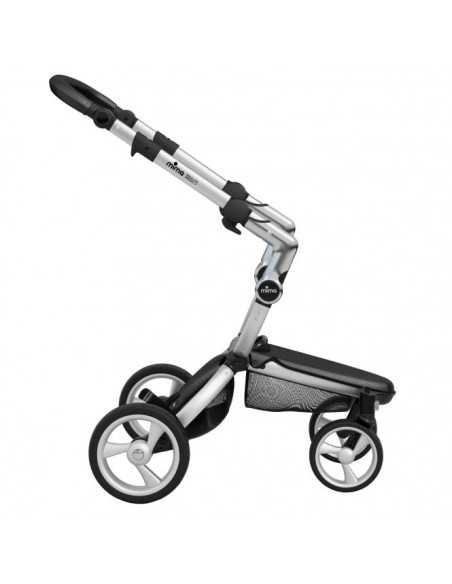 Mima Xari 3in1 Aluminium Chassis Pushchair-Snow White Mima
