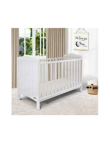 iSafe Baby Cot Bed Toddler Bed-Monika...