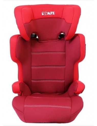 Isafe (CS007) Car Booster Seat Group 2 3 Junior Trio Toddler Booster Car Seat 15 To 36 Kg-Red