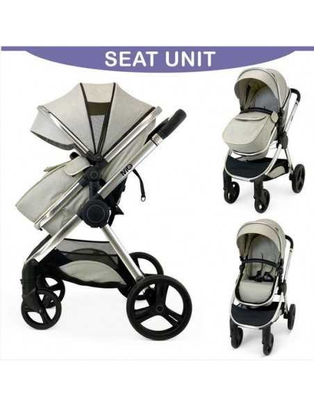 Isafe Mio All In One 3in1 Pram System-Dawn Isafe