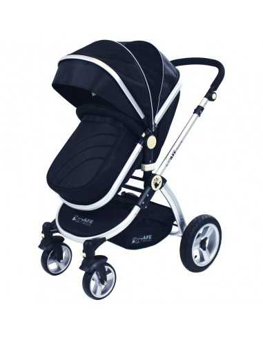 iSafe 2in1 Pram System-Black