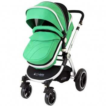 iSafe 2in1 Pram System-Leaf