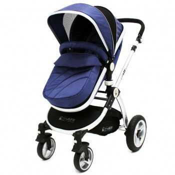 iSafe 2in1 Pram System-Navy