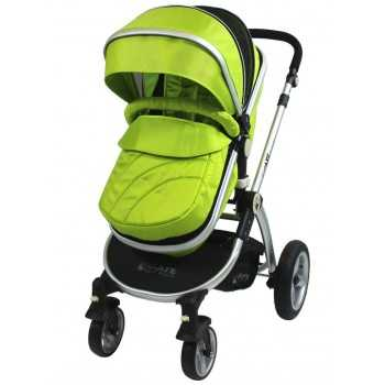 iSafe 2in1 Pram System-Lime