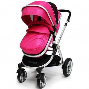 iSafe 2in1 Pram System-Pink