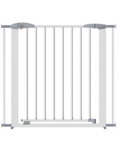 Clippasafe Gate Extendable Swing Shut-Metal White Clippasafe