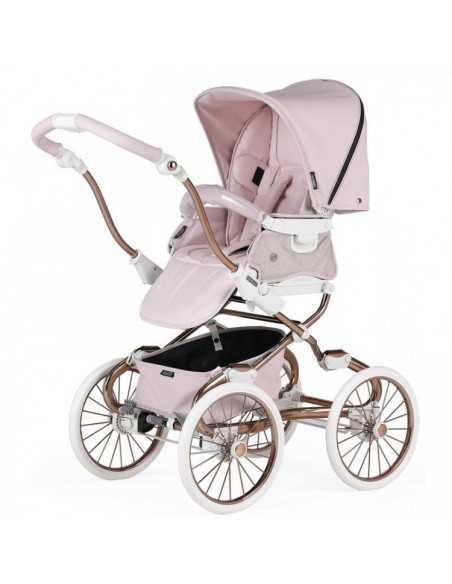 Bebecar Prive Stylo Class+ 3in1 Combination Pram + Raincover & LA3 Kit-Pink Shimmer (184) Bebecar