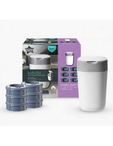 Tommee Tippee Nappy Disposal Twist &...
