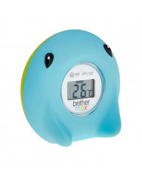 Brother Max Digital Bath/room Thermometer Ray Brother Max