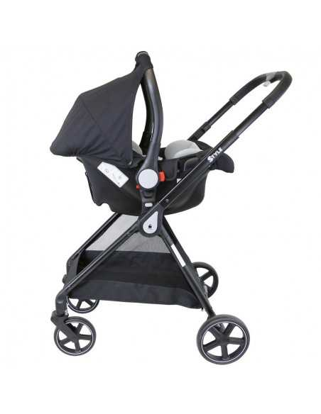 Isafe 3in1 Pram Travel System-Black Isafe