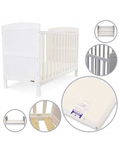 iSafe Baby Cot Bed Toddler Bed-Arnie...
