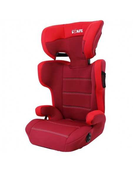 Isafe (CS007) Car Booster Seat Group 2 3 Junior Trio Toddler Booster Car Seat 15 To 36 Kg-Red Isafe