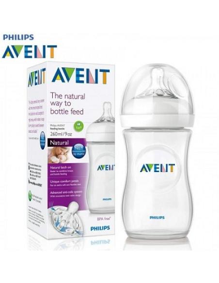 Avent Bottle Natural 2.0 9oz X2 Avent