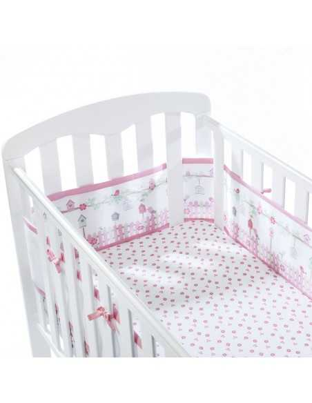 Breathable Baby Cotbed Set English Garden Breathable Baby