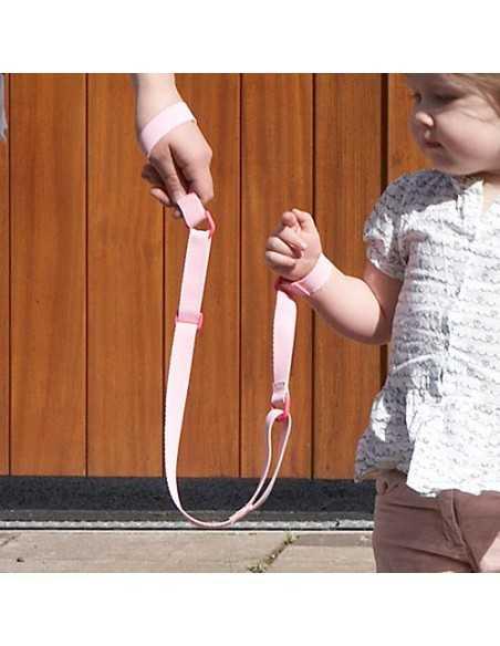 Clippasafe Harness Wrist Link-Pink Clippasafe