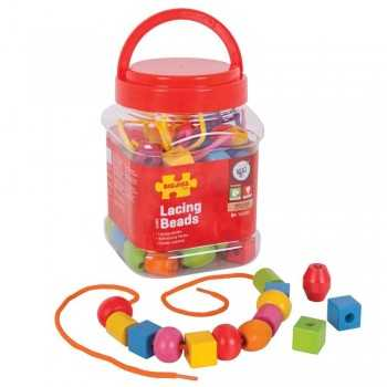 Bigjigs Toys Jar Of Lacing...