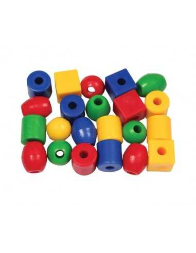 Bigjigs Toys Small Lacing Beads (1440...