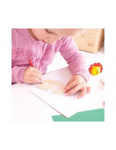 Bigjigs Toys Uppercase ABC Drawing Templates Bigjigs Toys