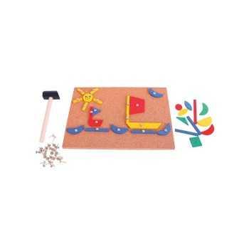 Bigjigs Toys Pin-a-Shape