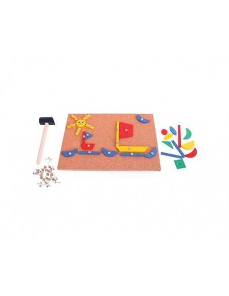 Bigjigs Toys Pin-a-Shape Bigjigs Toys