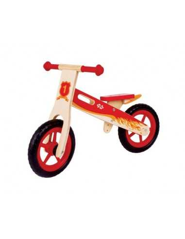 Bigjigs Toys My First Balance Bike-Red