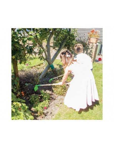 Bigjigs Toys Long Handled Soil Rake Bigjigs Toys