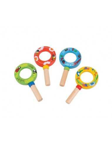 Bigjigs Toys Mini Magnifiers (Pk 4)