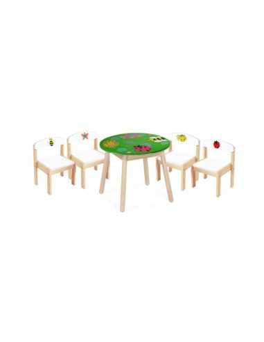 Bigjigs Toys Mini Beasts Table And...