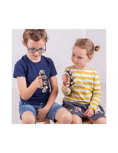 Bigjigs Toys Hand Bell-Children's Musical Instrument Toy Bigjigs Toys