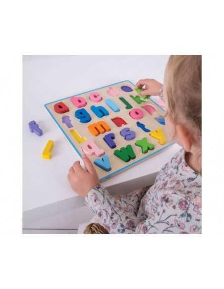 Bigjigs Toys Chunky Alphabet Puzzle (Lowercase) Bigjigs Toys