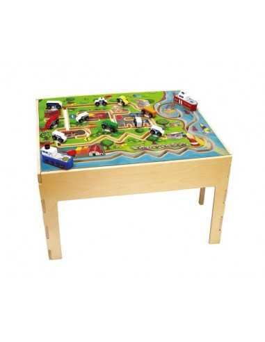 Bigjigs Toys City Transportation Table