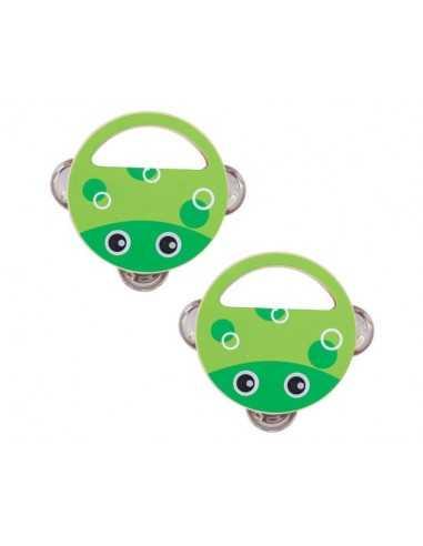 Bigjigs Toys Hand Shaker (Pk 2 Frog)