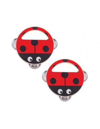 Bigjigs Toys Hand Shaker (Pk 2 Ladybird)
