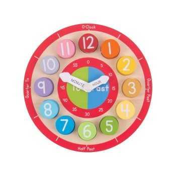 Bigjigs Toys Teaching Clock